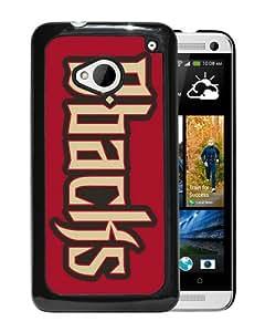 Fashionable Custom Designed Skin Case For HTC ONE M7 With Arizona Diamondbacks Black Phone Case