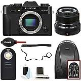 Fujifilm X-T20 Camera Body (BL)+23 F2 Lens + Focus Backpack & Accessories