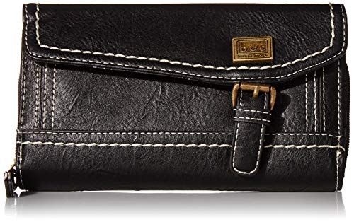 b.o.c. Womens Amherst Deluxe Wallet Black One Size
