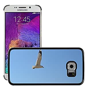 Super Stella Slim PC Hard Case Cover Skin Armor Shell Protection // M00107666 Seagull Flying Bird // Samsung Galaxy S6 EDGE (Not Fits S6)