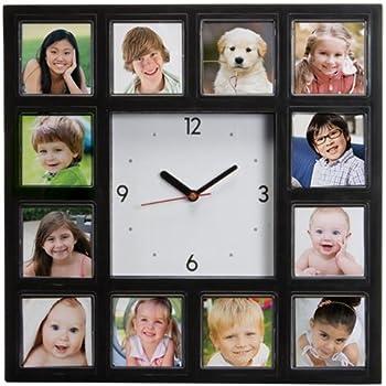 Amazon.com: Neil Enterprises, Inc Make Your Own Multi-Photo Clock ...