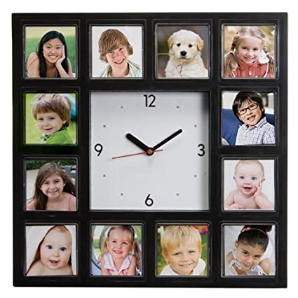 Amazon.com: Neil Enterprises, Inc Make Your Own Multi-Photo Clock ...