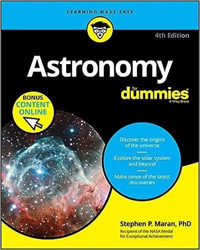 Astronomy for dummies 4 stephen p maran amazon fandeluxe Images