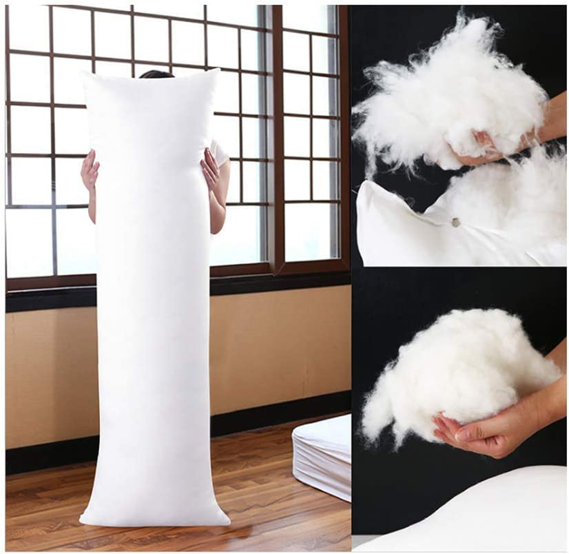 Home Goodnight Super Soft and Durability,Comfort Deluxe Grand Siberian 150x50cm(59in x 19.6in) Body Inner Pillow