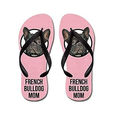 Amazon.com | CafePress - French Bulldog Mom - Flip Flops