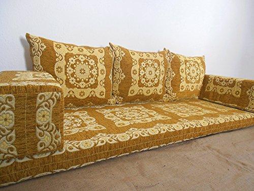 traditional oriental floor seating,floor sofa,arabic cushions,arabic seating,arabic couch - MA 2