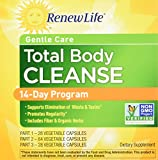 Renew Life - Gentle Care Total Body Cleanse - digestive detox and cleanse supplement - 14 day  program