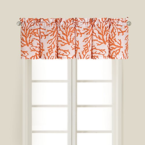 C&F Home 842841650 Cora Valance, Coral (Printed Coral)