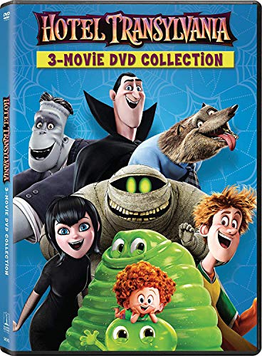 Hotel Transylvania 1/2/3 3 Movie Collection (3 Movie in 2 Disc) -