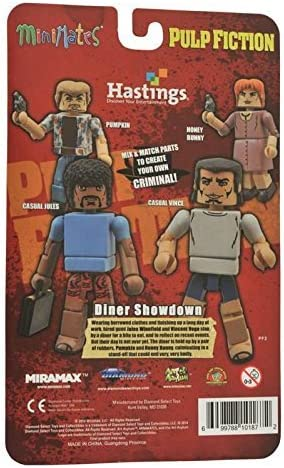 Pulp Fiction Minimates Diner Showdown Pumpkin
