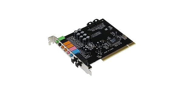 Amazon.com: Sedna – PCI Tarjeta de sonido con 7.1 canales de ...