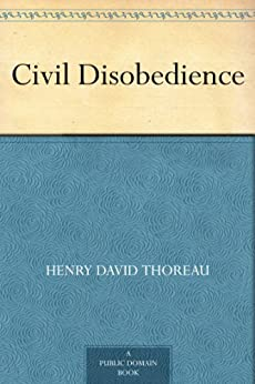 "The cover of ""Civil Disobedience."""
