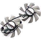 FD9015U12S 85MM 4Pin Cooling Fan For Sapphire XFX AMD Radeon HD7950 HD 7970 Dual-X Cooler Fans (2pcs/lot)