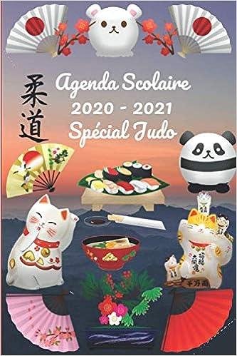 Calendrier Judo 2021 Agenda Scolaire 2020   2021 Spécial Judo: Calendrier scolaire 2020