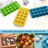 COCOCKA Silicone Candy & Chocolate Molds - Gummy