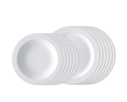 Arzberg Form 1382 Speiseset 12-Tlg. Weiß: Amazon.De: Küche & Haushalt