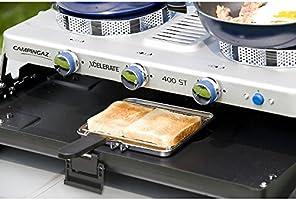 Campingaz Series Xcelerate 400 ST con Doble Quemador Color Azul Cocina de Camping con tostadora