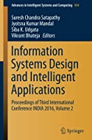Information Systems Design and Intelligent Applications, Volume 2 Front Cover