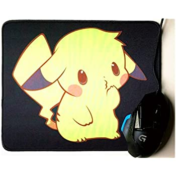 amazon com 12x10 inch pokemon cute soft pikachu mouse pad for