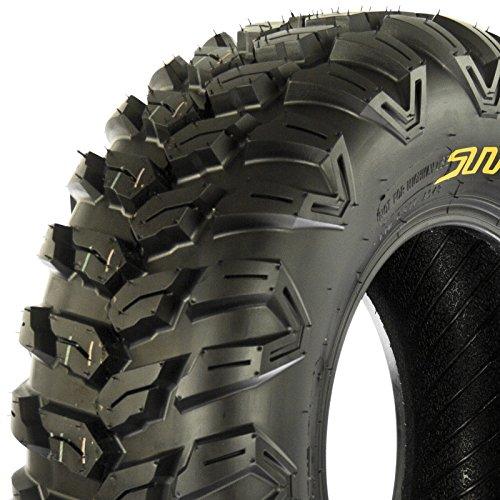 SunF ATV UTV 26x9R14 All Terrain 6 PR Tubeless Replacement Radial Tire A043, [Single]