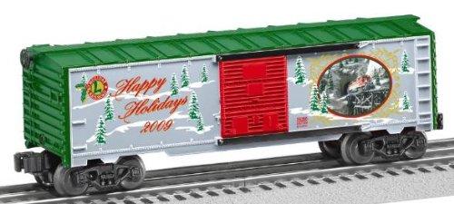 2009 Christmas Train (Lionel 6-25066 2009 Christmas Boxcar)