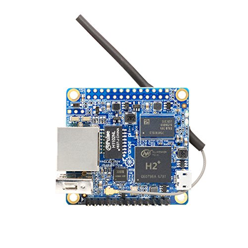 Makerfocus Orange Pi Zero H2 Quad Core Open-source 256MB Development Board with Wifi Antenna by MakerFocus