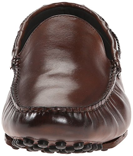 Att Starta New York Mens Kyle Slip-on Loafer Trapper Cognac