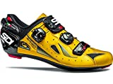 Sidi Ergo 4 Road Shoe (42, Carbon/Yellow/Black)