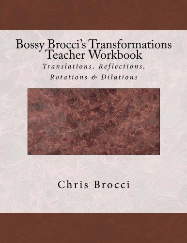 Amazon.com: Bossy Brocci's Transformations Teacher Workbook ...