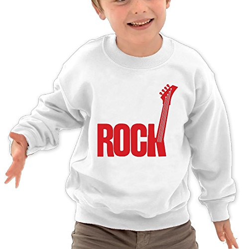 Price comparison product image BABYONE Lovely Guitar Rock Kids Pullover