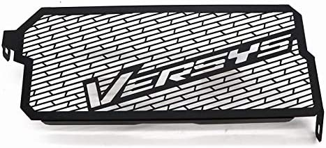 Ttzz Motorcycle Accessories Radiator Guard Protector Grille Grill Cover for Kawasaki Versys 650 //KLE650 15-17 Black