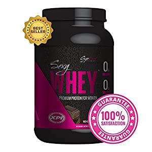 Gym Vixen Sexy Whey (Rich Chocolate) 30 Serv - Best Protein Powder For Women - Premium Whey Protein Isolate - Great Tasting! Low Calorie, Fat Free, Zero Carb, High in Folic Acid, Vitamin D and Calcium