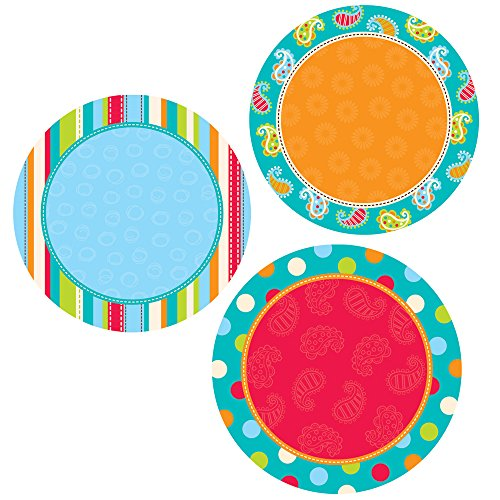 Cut Dot (Creative Teaching Press 6-Inch Designer Cut-Outs, Dots on Turquoise Dots)