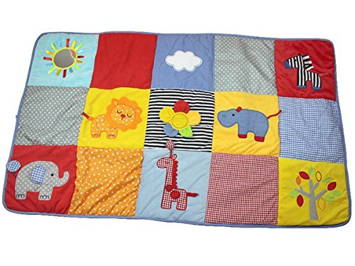 Elc Baby Crawling Mat Playing Blanket For 0-12 Monhs Mirror Animal Brand Product