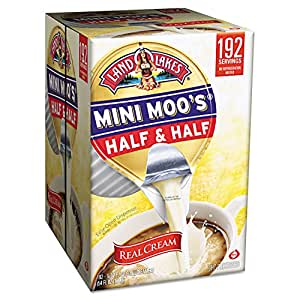Mini Moo's Half and Half, 192/Carton, Sold as 1 Carton, 192 Each per Carton