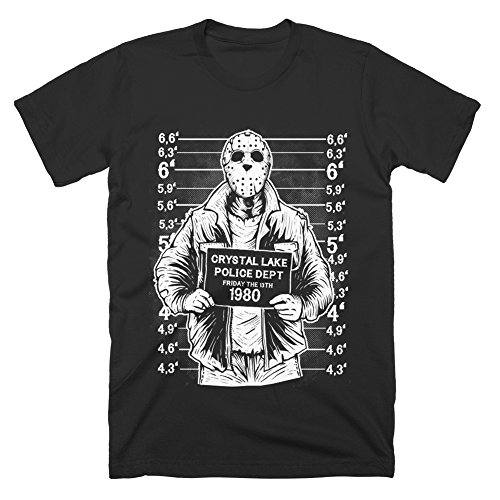 [Friday Night Mugshot Funny Horror Retro T-Shirt] (Best Cult Halloween Movies)