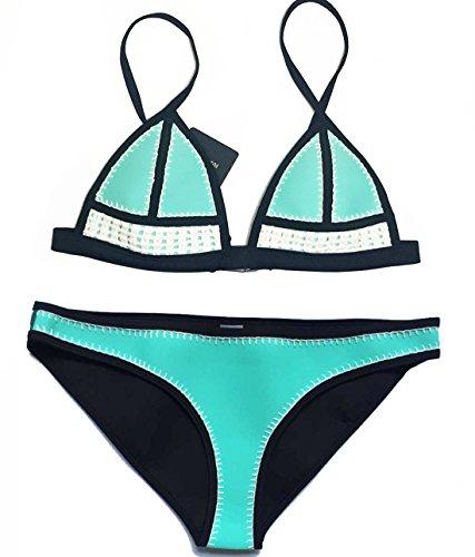 FLORAVOGUE Blanket Neoprene Triangle Swimsuit