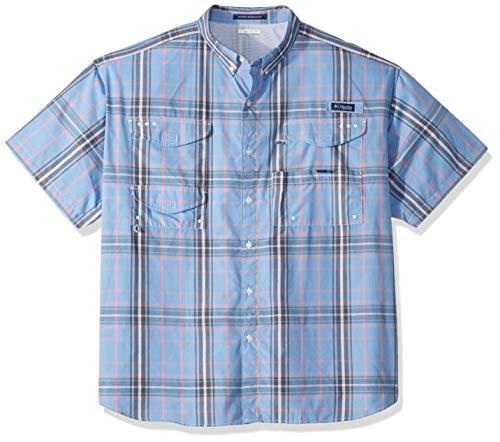 Columbia Mens Super Bonehead Classic Big & Tall Short Sleeve Shirt