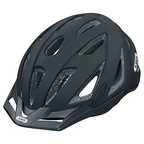 (Abus Urban-I Helmet with Integrated LED Taillight, Velvet Black, X-Large)
