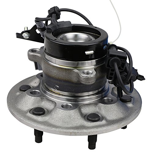 Chevy Colorado Driver Design - CRS NT515108 New Wheel Bearing Hub Assembly, Front Left (Driver), for 2004-2008 Chevy Colorado, GMC Canyon, RWD, w/ABS