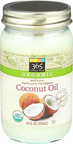365 Everyday Value, Organic Coconut Oil, 14 Fluid Ounce