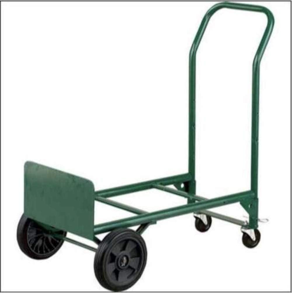 Hand Truck Dolly Foldable Heavy Duty Platform Cart 300Lb Capacity Multi Position