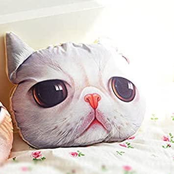 Amazon.com: Huayang – Elegante almohada forma de la cabeza ...