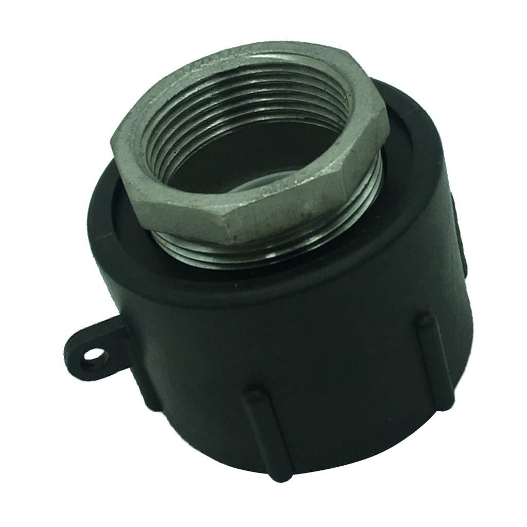 1 Zoll-Innenschraube Homyl IBC Wassertank Tankadapter Schraubdeckel Verschluss Deckel f/ür 1000 Liter Tonnen F/ässer IBC F/ässer