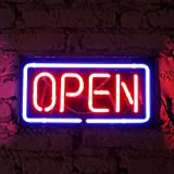 FUYALIN Neon Sign 2018 OPEN -Store Open Neon Signs Bars & Clubs Open For Man Cave Beer Also Neon Signs for business, Walls, Window, Shop, Bar, Hotel