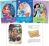 Disney Princess Set: Ariel, the Shimmering Star Necklace / Cinderella, the Lost Tera / Jasmine, the Jewel Orchard