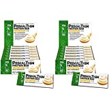 Primal Thin Protein Bars 24 Bars w/20g Organic Protein Grass Fed Whey (130 Cal, 1g Sugar, 1 Net Carb) (Gluten Free)