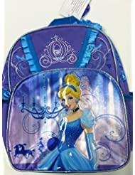 Small Size Purple Cinderella Backpack - Cinderella Bookbag