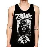 Mazumi8 Rob Zombie Prison Metal Tank Top Size L Black