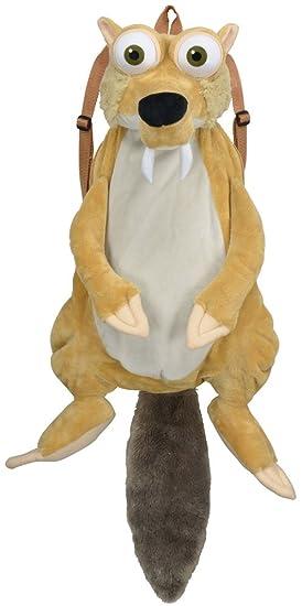 Mochila peluche Scrat. La Edad de Hielo, 55 cm